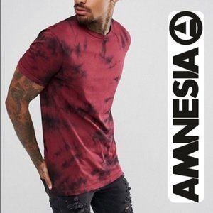 AMNESIA | Ripped Distressed Tie Dye T-shirt